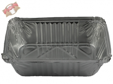 Aluschale Lasagneschale 940 ml 201x136x50 mm (100 Stk.)
