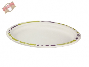 Chinet Teller oval 26x19 cm Flavour (140 Stk.)