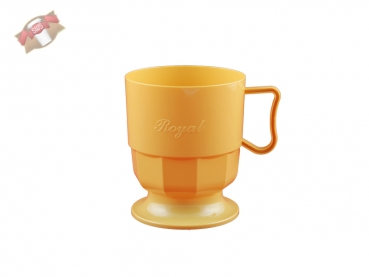 royal cup tasse kaffeetasse becher beige 300 stk becher onlineshop. Black Bedroom Furniture Sets. Home Design Ideas