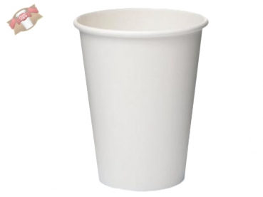 Hotcup Coffee to go Becher 0,25 ltr. weiß (50 Stk.)
