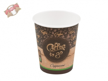 Kaffeebecher Coffee to go Becher M 200 ml Ø 80 mm (50 Stk.)