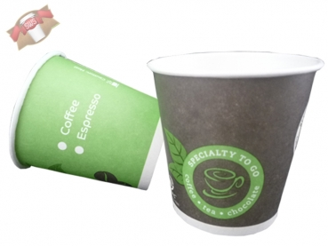 Coffee to go Becher Speciality to go 100 ml grün (80 Stk.)