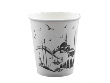 "Coffee to Go Becher ""Istanbul"" 180 ml 7 oz (100 Stk.)"